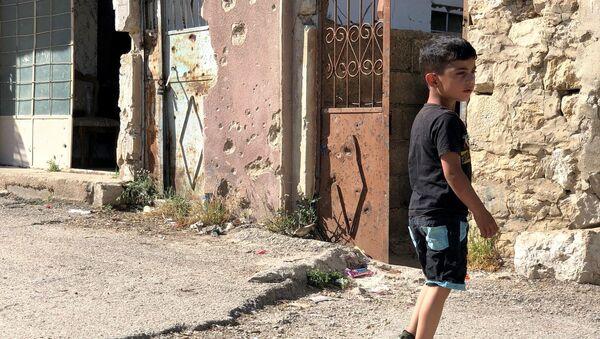 Un enfant à Beit Jinn - Sputnik France