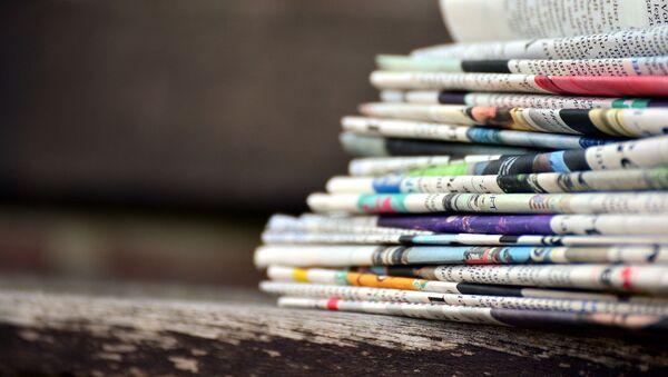 Des journaux - Sputnik France