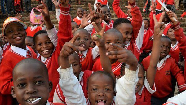 Des enfants africains - Sputnik France