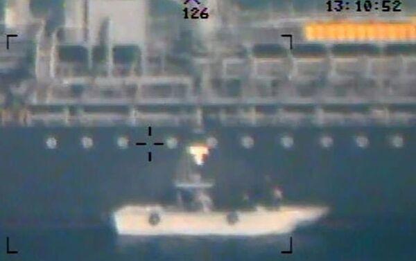 L'armée US annonce diffuser de nouvelles images de l'attaque des pétroliers en mer d'Oman - Sputnik France
