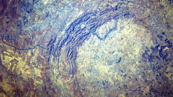 Dôme de Vredefort. Image satellitaire - Sputnik France
