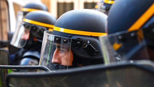 Des agents de la CRS - Sputnik France