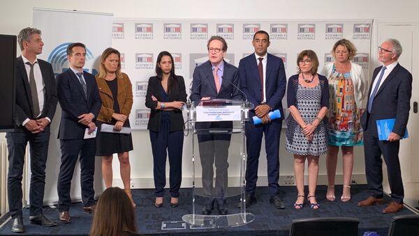 Conférence de presse du groupe LaREM à l'Assemblée nationale, 18 juin 2019 - Sputnik France