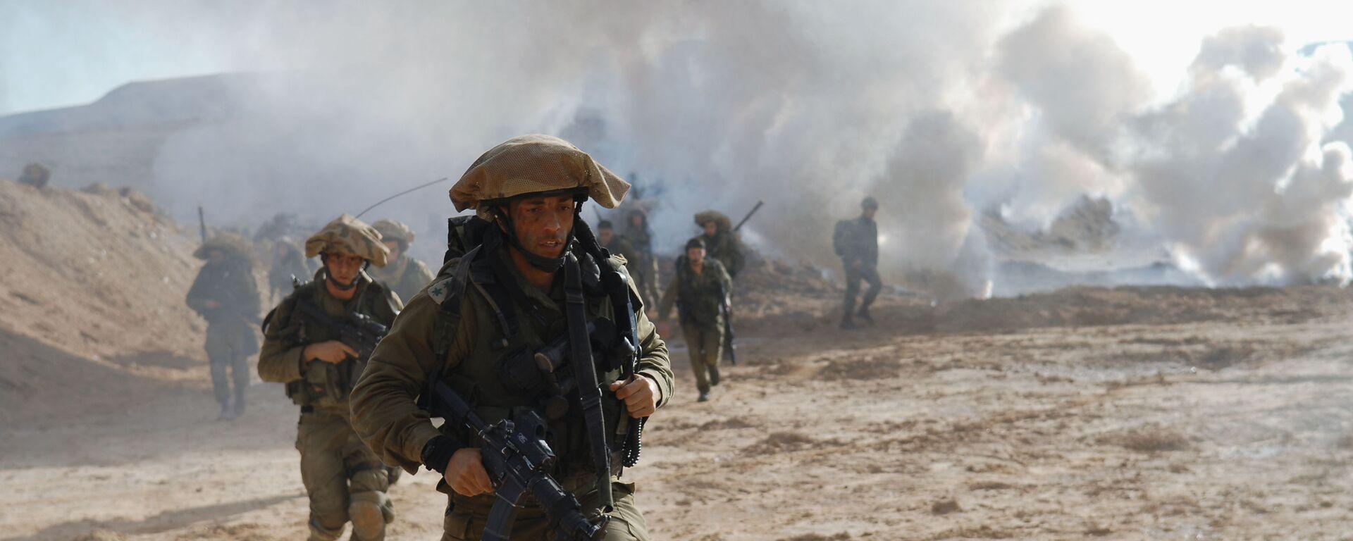 Israël exercices militaires армия Израиля учения - Sputnik France, 1920, 06.10.2021