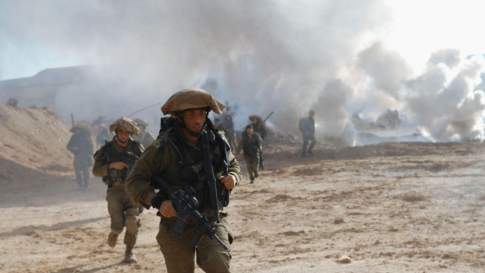 Israël exercices militaires армия Израиля учения - Sputnik France, 1920, 05.08.2021