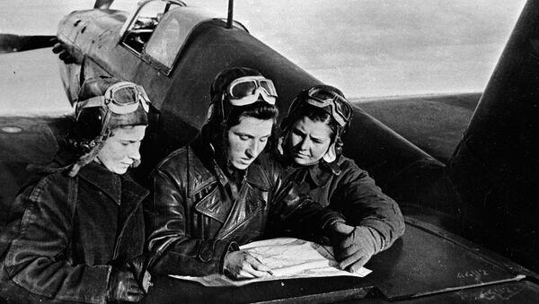 Pilotes soviétiques durant la Grande Guerre patriotique - Sputnik France