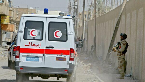 Une ambulance à Bagdad (image d'illustration) - Sputnik France