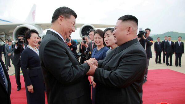 La première visite officielle d'un Président chinois en Corée du Nord depuis 14 ans  - Sputnik France