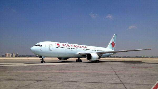 L'avion de l'Air Canada - Sputnik France