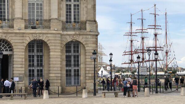Sedov à Bordeaux Fête le Fleuve en 2019 - Sputnik France