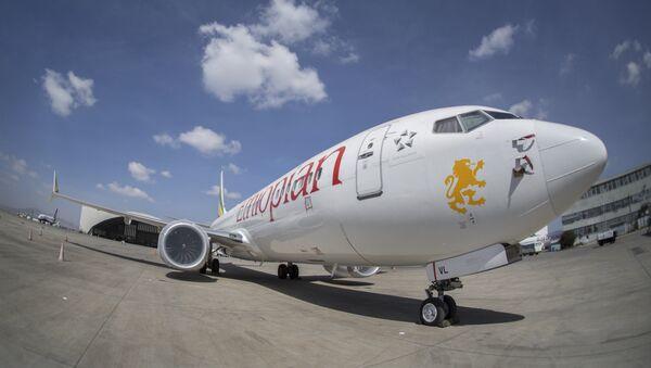 Un Boeing 737 Max 8 d'Ethiopian Airlines (image d'illustration) - Sputnik France