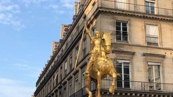 Statue de Jeanne d'Arc à Paris - Sputnik France