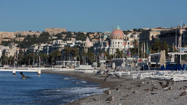 Nice, Promenade des Anglais  - Sputnik France
