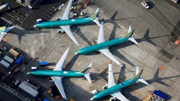 Самолеты Boeing 737 MAX - Sputnik France