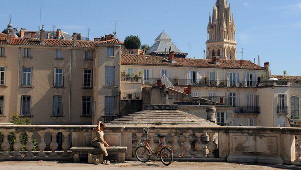 Вид на церковь Святой Анны в городе Монпелье во Франции. - Sputnik France