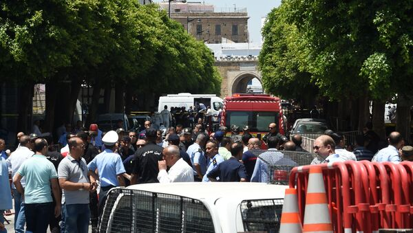 Double attentat contre la police à Tunis, le 27 juin - Sputnik France