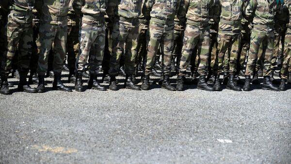Au camp militaire de Caylus, image d'illustration  - Sputnik France