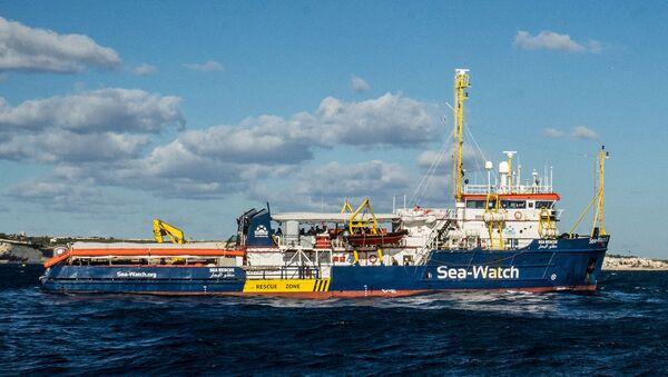 Le navire Sea-Watch - Sputnik France