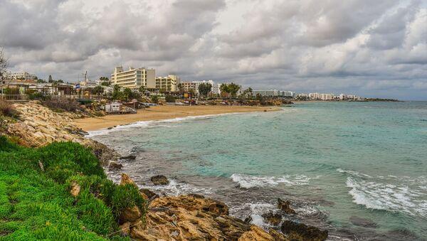 Beach, coast of Protaras, Cyprus  - Sputnik France