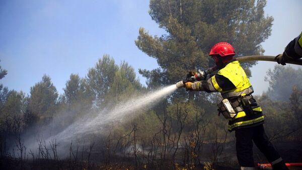 Des sapeurs-pompiers, image d'illustration  - Sputnik France