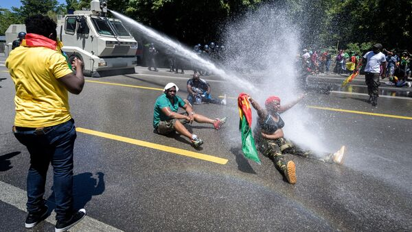 manifestants à Genève, le 29 juin 2019 - Sputnik France