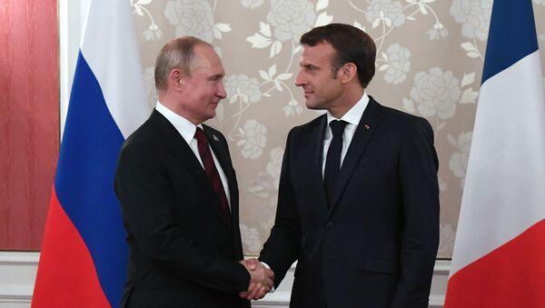 Rencontre Macron-Poutine en marge du sommet G20 à Osaka - Sputnik France