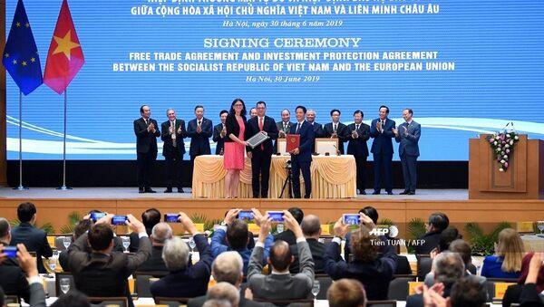 L'UE et le Vietnam signent un accord de libre-échange - Sputnik France