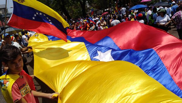 Labour Day Demonstration in Caracas - Sputnik France