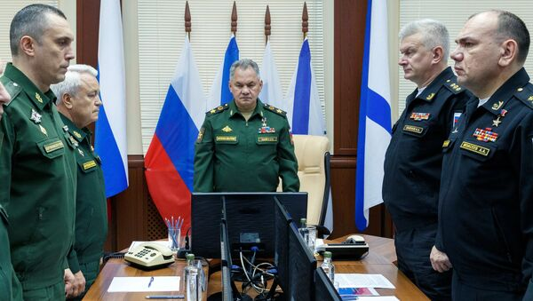 Министр обороны РФ С. Шойгу прибыл  в Североморск - Sputnik France