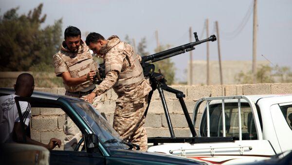 Des soldats de l'ANL près de Benghazi en Libye (archive photo) - Sputnik France