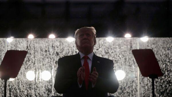 Donald Trump lors des célébrations du Jour de l'indépendance  - Sputnik France