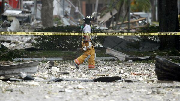 une forte explosion de gaz dans un centre commercial de Floride - Sputnik France