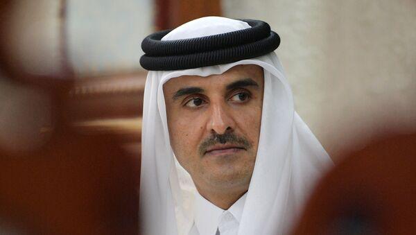 L'émir du Qatar Tamim ben Hamad Al Thani  - Sputnik France