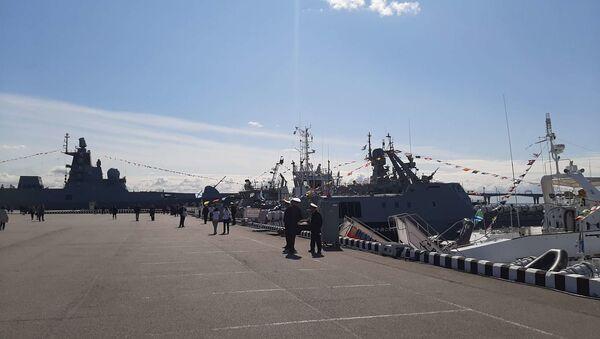 Le 9e Salon international de la défense maritime de Saint-Pétersbourg - Sputnik France