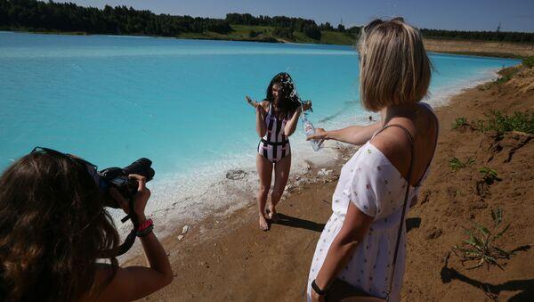 Les Maldives russes: un étrange lac en Sibérie où il est impossible de ne pas faire de selfies  - Sputnik France