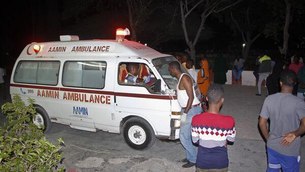 Ambulance en Somalie (image d'illustration) - Sputnik France