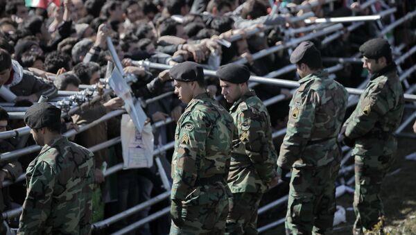 Militaires iraniens - Sputnik France