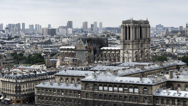 Notre-Dame de Paris en travaux, 2019 - Sputnik France