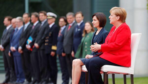 Angela Merkel et Maia Sandu - Sputnik France