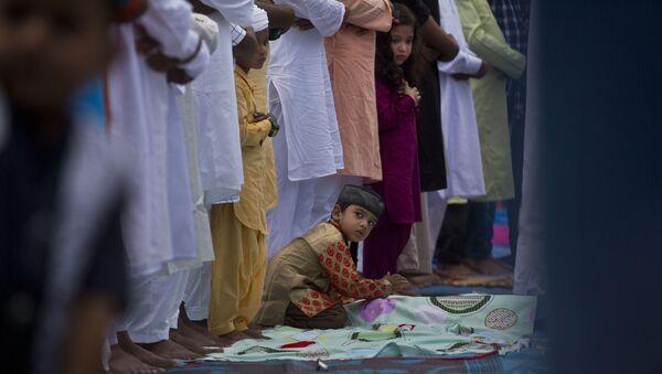 Des musulmans indiens - Sputnik France