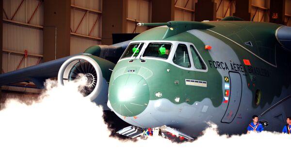 Avion de transport KC-390, fabriqué par l'entreprise brésilienne Embraer - Sputnik France