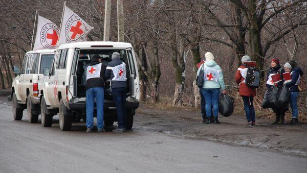 Un échange de prisonniers entre l'Ukraine et les républiques autoproclamées de Donetsk et de Lougansk, décembre 2017 - Sputnik France