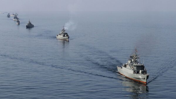 Navires militaires iraniens - Sputnik France