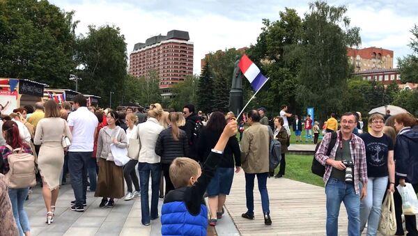 Journée de France à Moscou le 14 juillet - Sputnik France