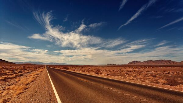 Route dans le Nevada - Sputnik France