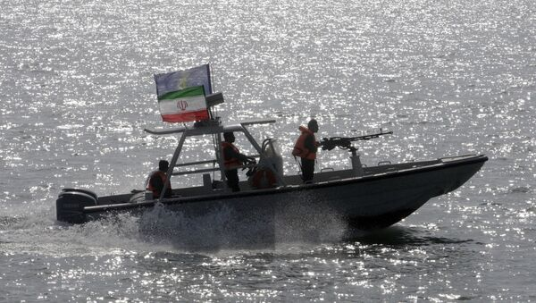 Une vedette des Gardiens de la révolution iraniens - Sputnik France