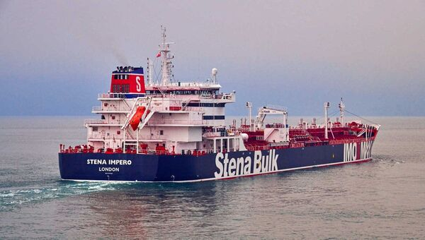 Le pétrolier britannique Stena Impero - Sputnik France