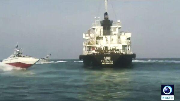 Le pétrolier Riah arraisonné par l'Iran  - Sputnik France