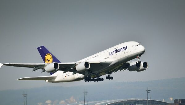 un avion de Lufthansa  - Sputnik France