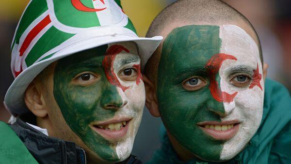 Supporters algériens - Sputnik France